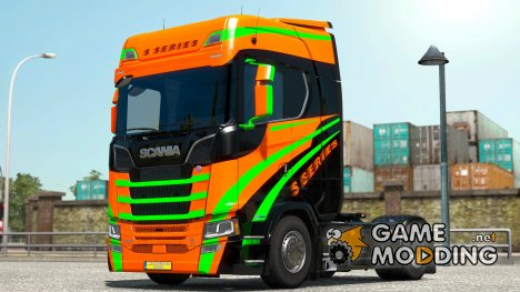 S Series для Scania S580 for Euro Truck Simulator 2