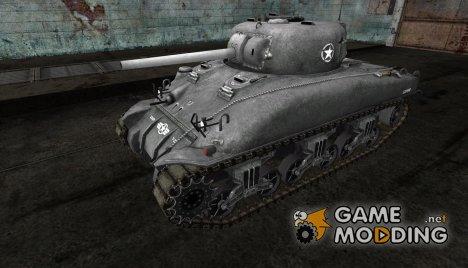 Шкурка для M4 Sherman for World of Tanks