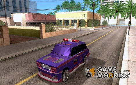 ВАЗ-2104 Police Racing для GTA San Andreas