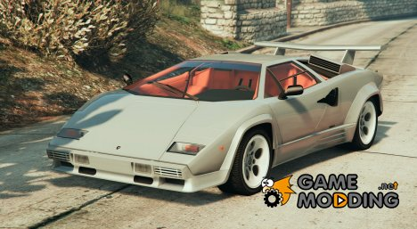 1988 Lamborghini Countach LP500 QV 1.2 for GTA 5