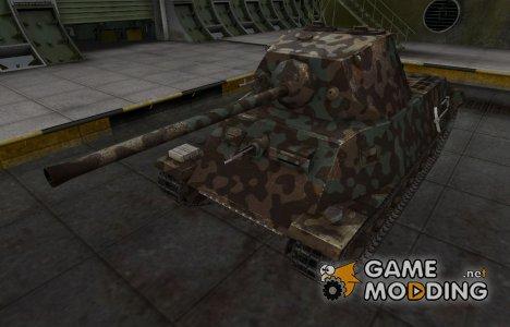 Горный камуфляж для T-25 для World of Tanks