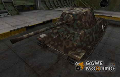 Горный камуфляж для T-25 for World of Tanks