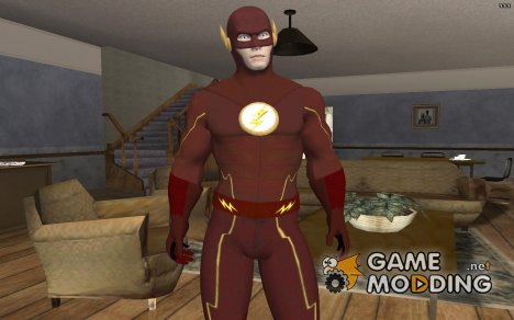 The Flash (TV Series) White Logo для GTA San Andreas