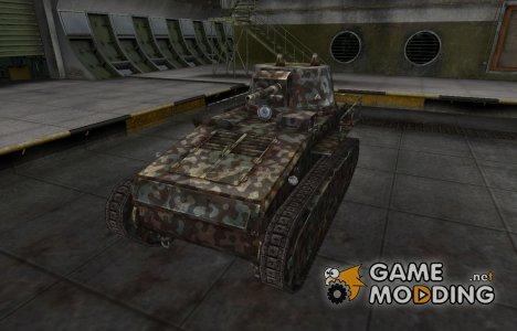 Горный камуфляж для Leichttraktor для World of Tanks