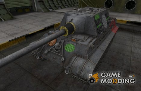 Зона пробития Jagdtiger for World of Tanks