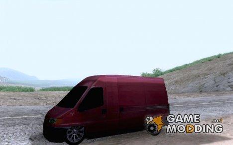 Peugeot Boxer для GTA San Andreas