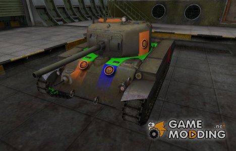 Качественный скин для T21 for World of Tanks