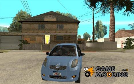 Toyota Yaris для GTA San Andreas
