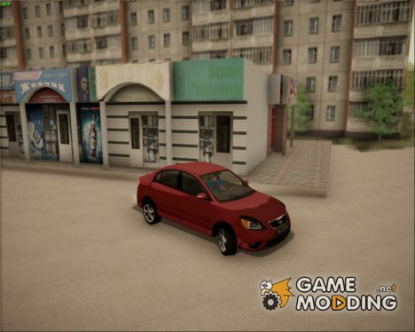 Kia Rio II 2009 for GTA San Andreas