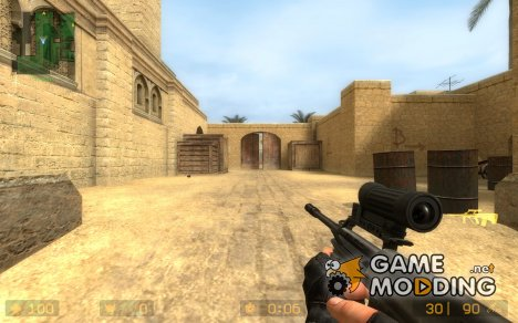 Sproily's AUG With Elcan Scope для Counter-Strike Source