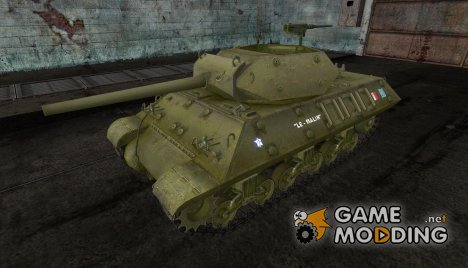 Шкурка для M10 Wolverine French для World of Tanks