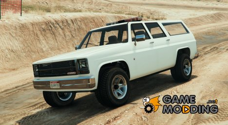 No Snow police Rancher (without liveries) 0.1 for GTA 5