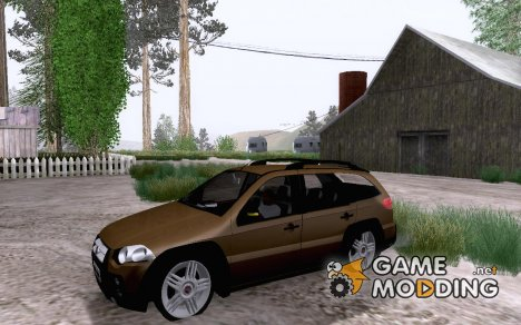 Fiat Palio Weekend Edit для GTA San Andreas