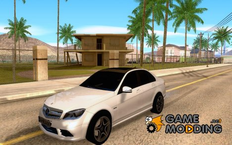 Mercedes-Benz C180 AMG Pimp Style for GTA San Andreas