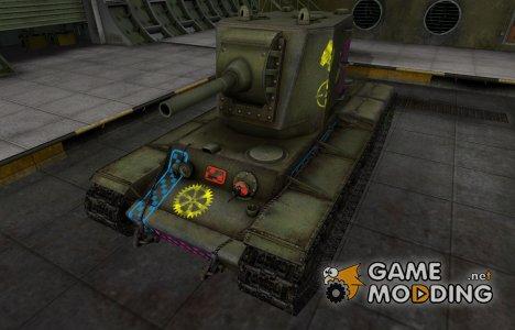 Качественные зоны пробития для КВ-2 для World of Tanks