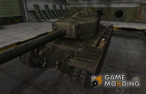 Шкурка для американского танка T34 for World of Tanks