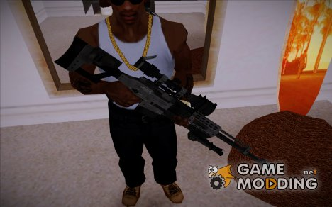 Raab KM50 Sniper Rifle (F.E.A.R. 2) for GTA San Andreas