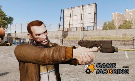 Тактический пистолет Glock 18 v1 для GTA 4