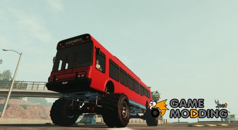 Monster Bus 2.0 для GTA 5