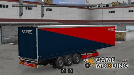 Vogel Trailer made by LazyMods for Euro Truck Simulator 2