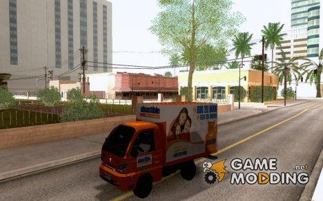 Hafei Camion de Gas for GTA San Andreas