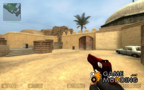 The Ultimate Red Havoc Deagle  *w/ MY UV  bullets for Counter-Strike Source