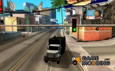 Enterable Trashmaster для GTA San Andreas