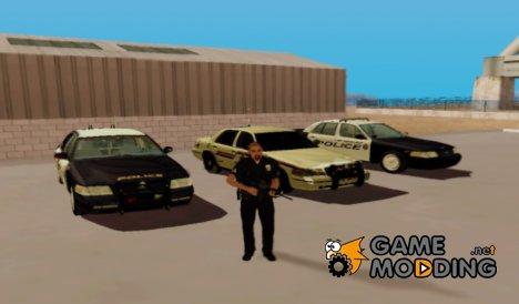 Police Pack  V 1.0 for GTA San Andreas
