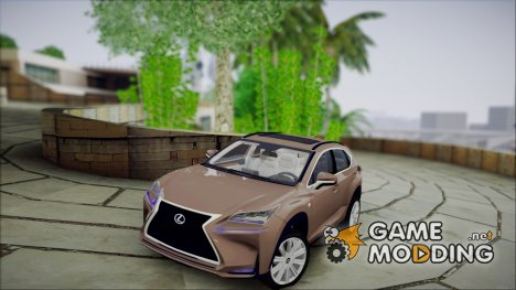 Lexus NX 200t v5 for GTA San Andreas