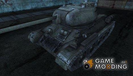 шкурка для Т-34-85 (По мотивам марша 3гв. ТА) для World of Tanks