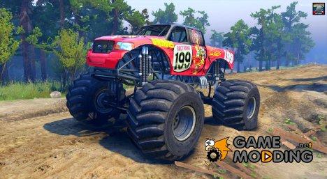 Pastrana Monster Truck for Spintires 2014