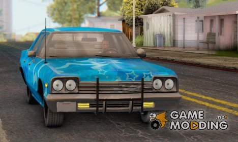 Dodge Monaco 1974 Blue Star для GTA San Andreas