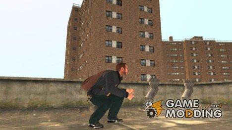 """Кроссовки """"Black"""" для GTA 4"""