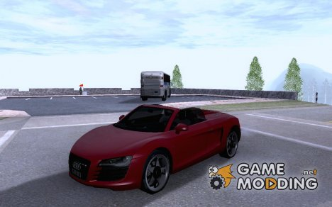 Audi R8 Spyder Tunable for GTA San Andreas