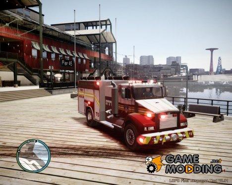Новая пожарная машина for GTA 4