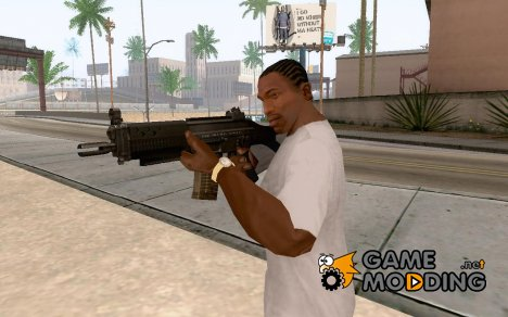 SIG SG 552 Commando для GTA San Andreas