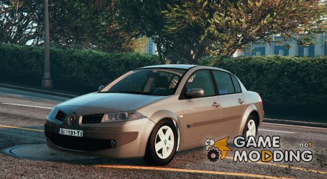 Renault Megane Sedan for GTA 5
