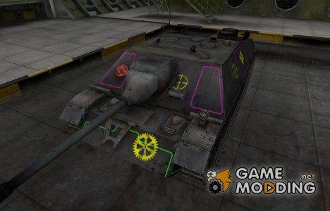 Контурные зоны пробития JagdPz IV for World of Tanks