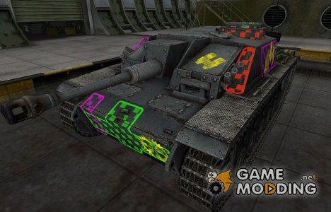 Качественные зоны пробития для StuG III для World of Tanks