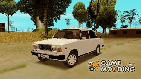 Ваз 2107 for GTA San Andreas