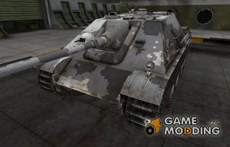 Камуфлированный скин для Jagdpanther для World of Tanks