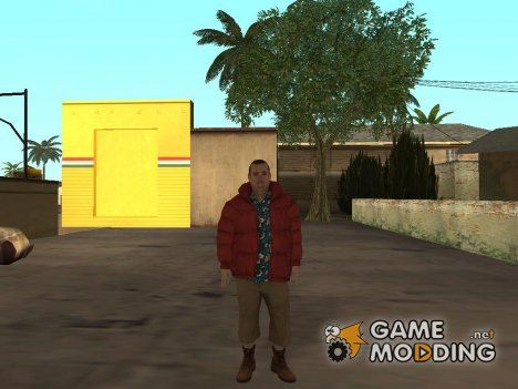 Alan Wake Barry Wheele для GTA San Andreas