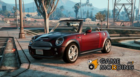 Mini Cooper S Convertible for GTA 5