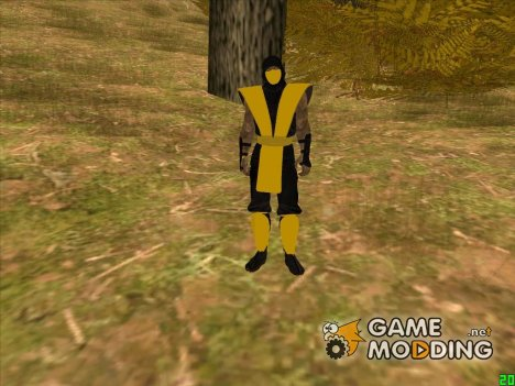 Scorpion Mortal Kombat для GTA San Andreas