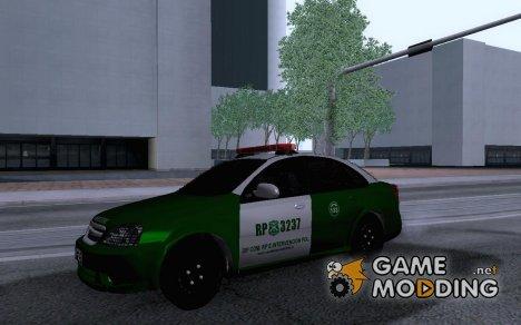 Chevrolet Optra Carabineros De Chile для GTA San Andreas