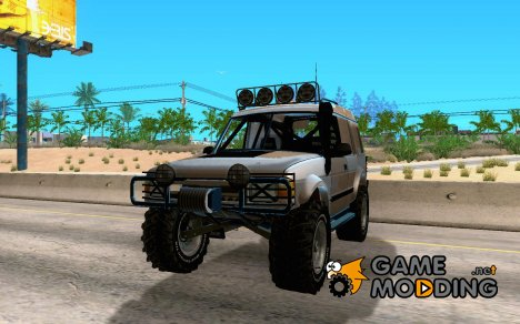 Landrover Discovery 2 Rally Raid for GTA San Andreas