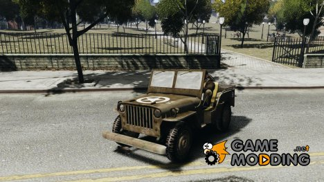 Jeep Willys для GTA 4