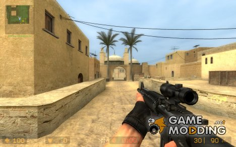 AUG M16A4 для Counter-Strike Source