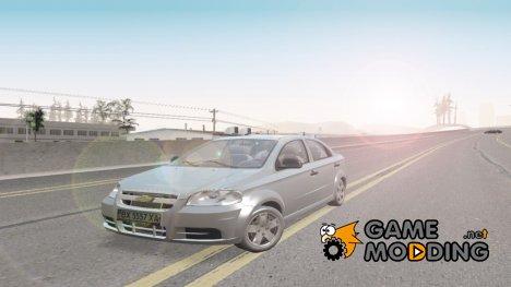 Chevrolet Aveo 2007 v2.0 доработка для GTA San Andreas