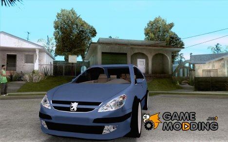 Peugeot 607 для GTA San Andreas